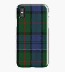 01047 Colquhoun Clan/Family Tartan  iPhone Case