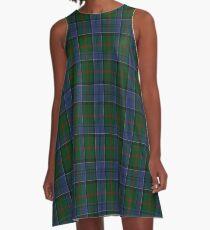 01047 Colquhoun Clan/Family Tartan  A-Line Dress