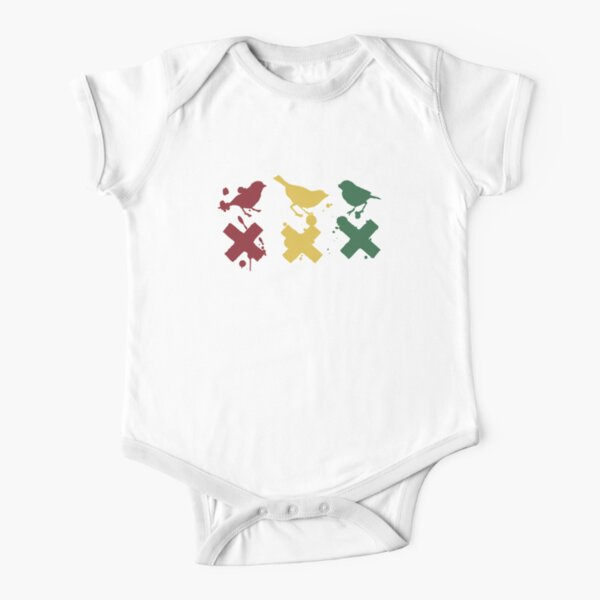 Ajax 3 little birds Short Sleeve Baby One-Piece