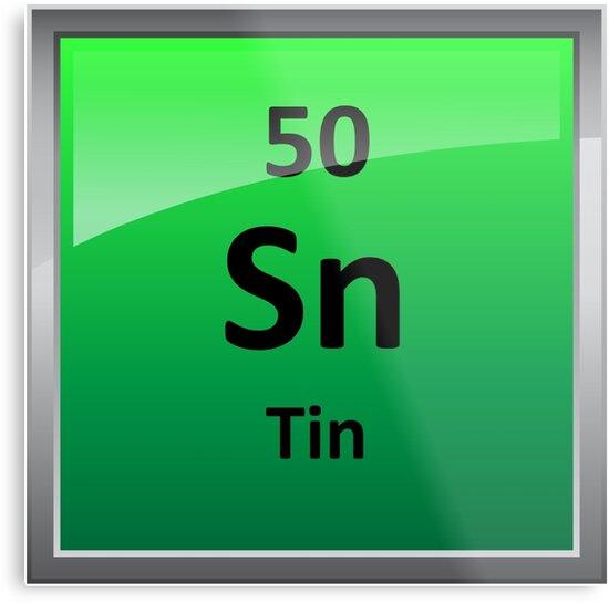 Tin periodic table element symbol metal prints by sciencenotes tin periodic table element symbol by sciencenotes urtaz Gallery