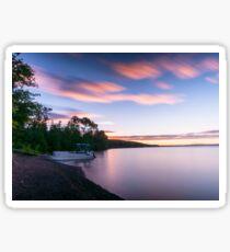 Eagle Lake Sunrise Sticker