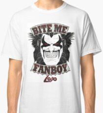 Lobo Bite Me Fanboy  DC comics  Classic T-Shirt