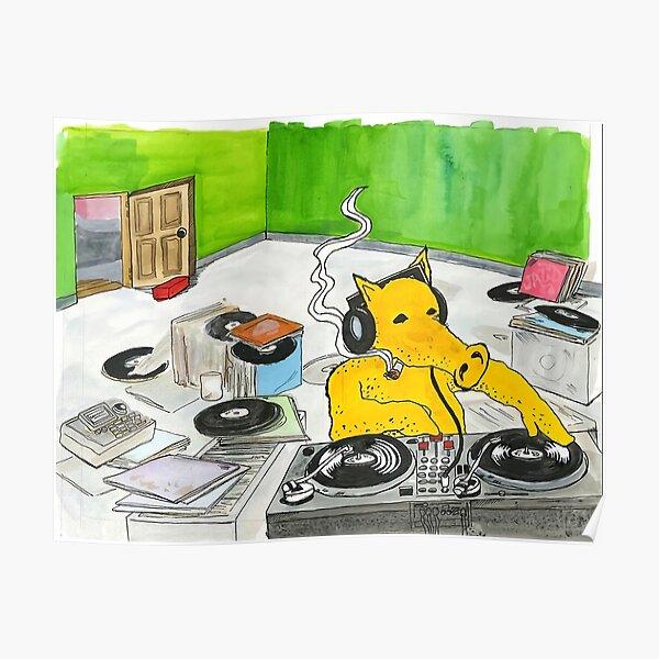 Quasimoto DJ Poster