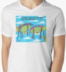DRY HEAT Men's V-Neck T-Shirt