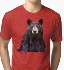 Black Bear Tri-blend T-Shirt