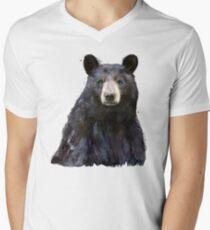 Black Bear V-Neck T-Shirt