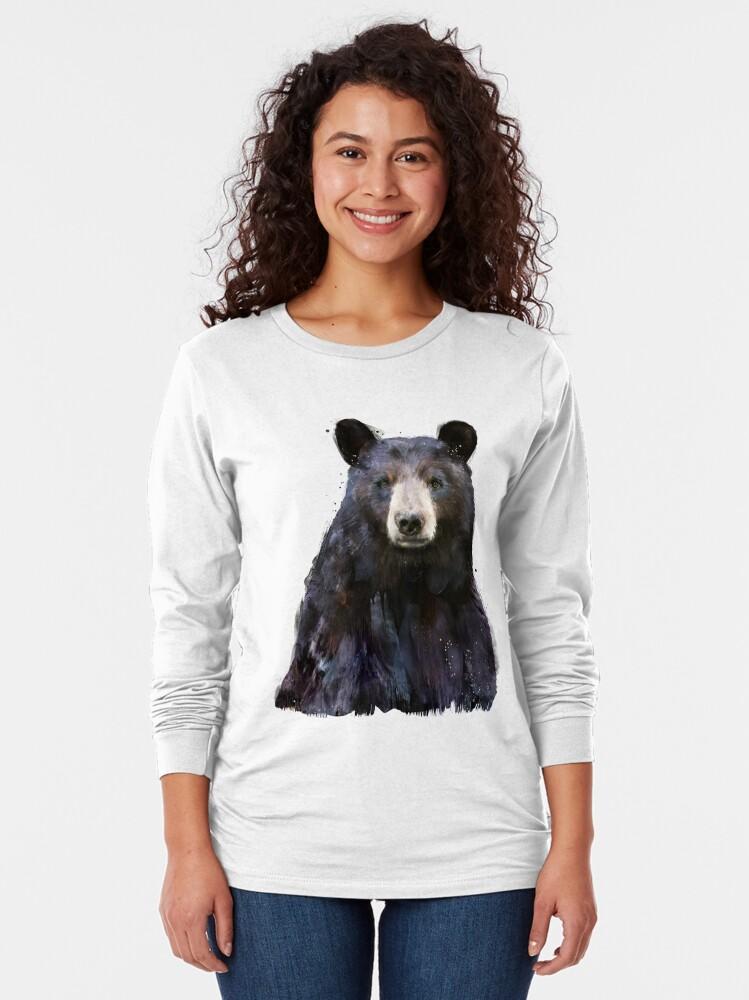 Alternate view of Black Bear Long Sleeve T-Shirt