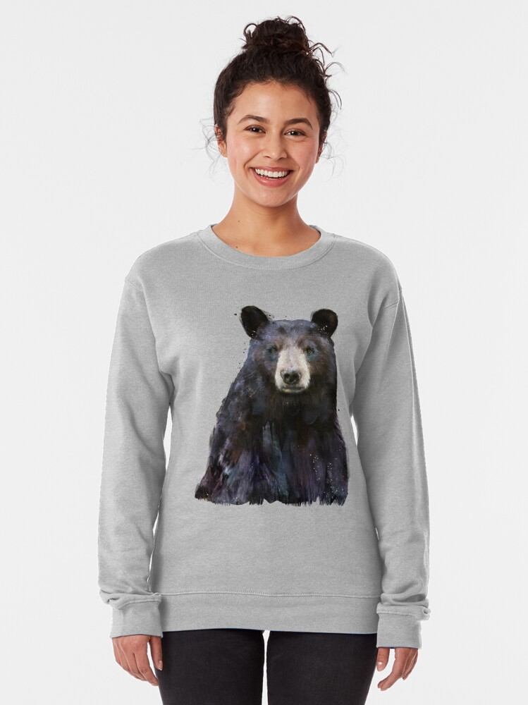 Alternate view of Black Bear Pullover Sweatshirt