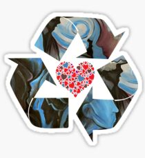 Recycle Love Sticker