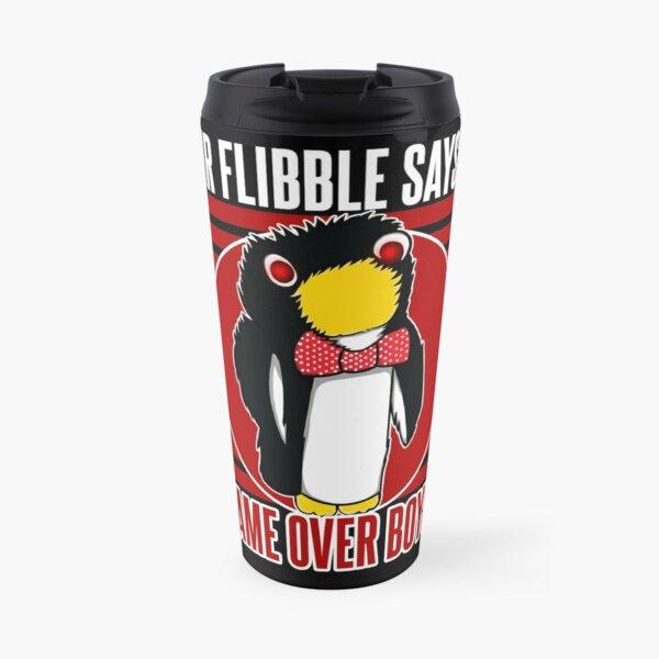 Mr Flibble Says... Game Over Boys Travel Mug