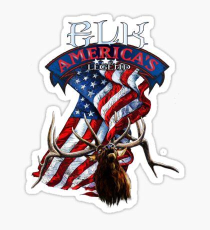 Elk America's Legend V2 Sticker