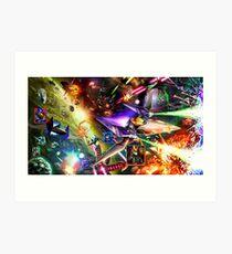 The Starfox Universe: In Flux Art Print