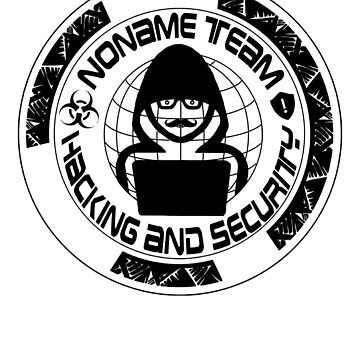 Noname Team Hacking Ane Security Shirt by CaseDesign