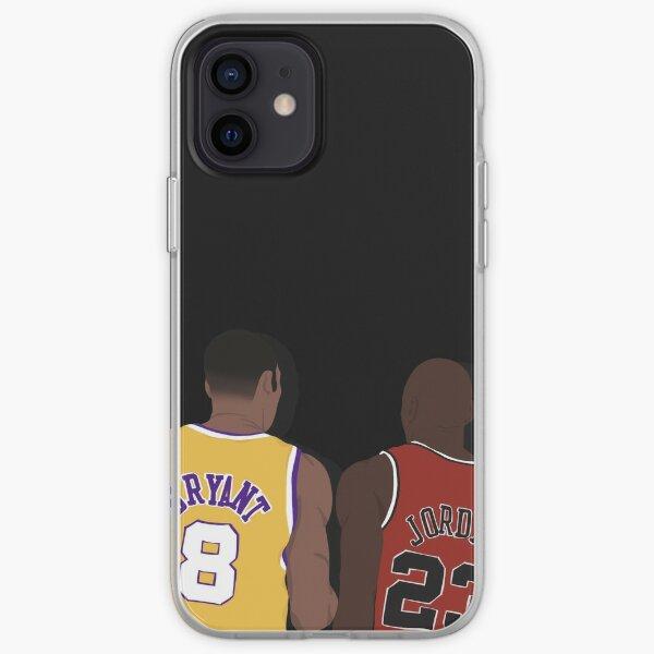 Kobe Bryant et Michael Jordan Coque souple iPhone