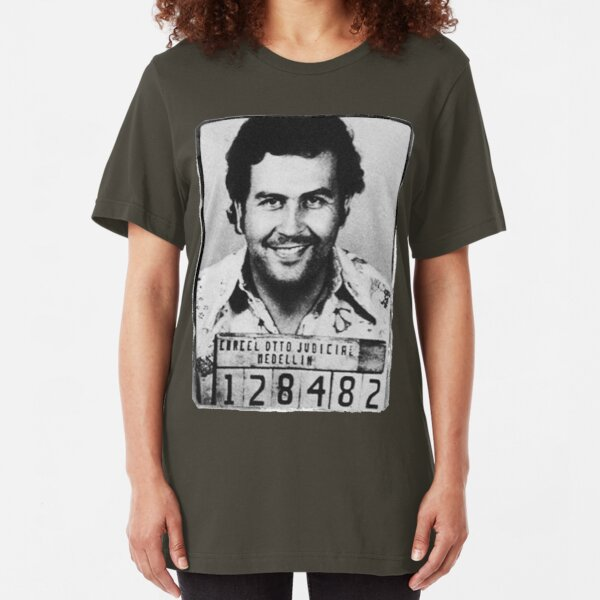 Escobar Mugshot Slim Fit T-Shirt