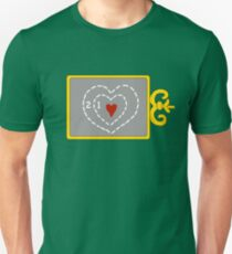 Two Sizes Too Small Unisex T-Shirt