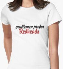 Gentlemen prefer redheads T-Shirt