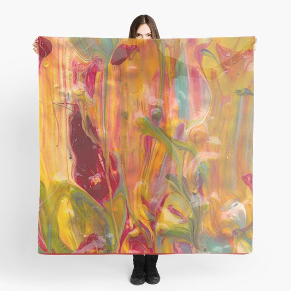 Dancing through the Tulips Scarf