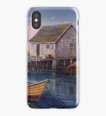 Peggys Cove Sunset iPhone Case/Skin