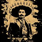 Emiliano Zapata - bleached natural by Bela-Manson