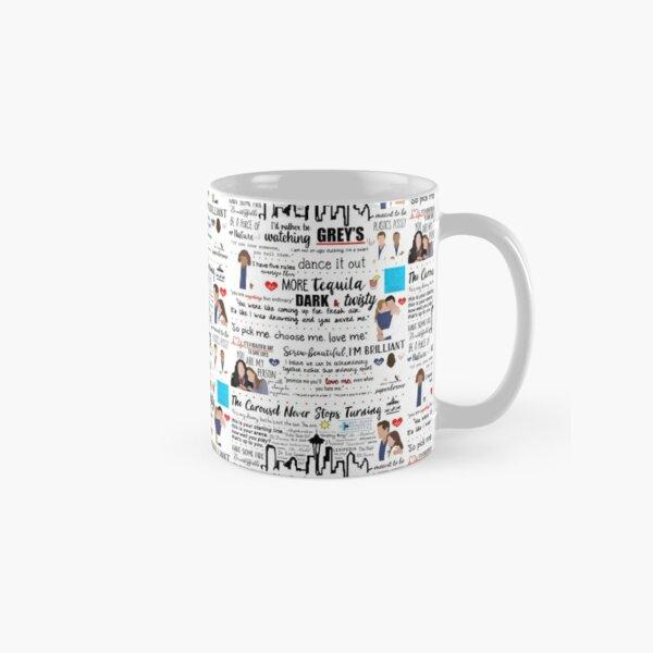 Grey's Quote Collage  Classic Mug