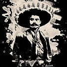 Emiliano Zapata - bleached creme-white by Bela-Manson