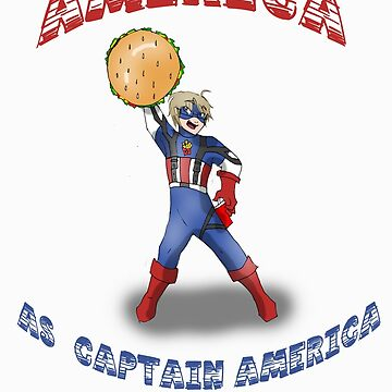 Heroic America by worldismyne
