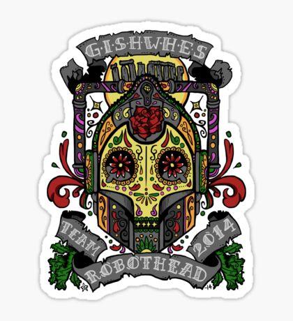 TEAM ROBOTHEAD (colour) Sticker