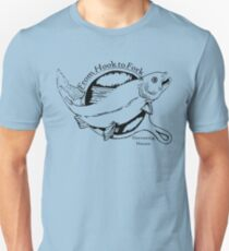 Hook to Fork Unisex T-Shirt