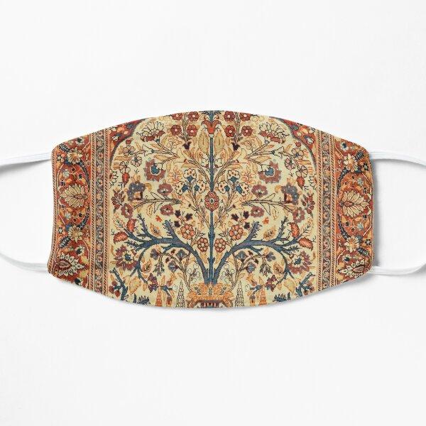 Tabriz Tree of Life Persian Rug Print Flat Mask