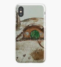 Painting of Bag-end iPhone Case/Skin