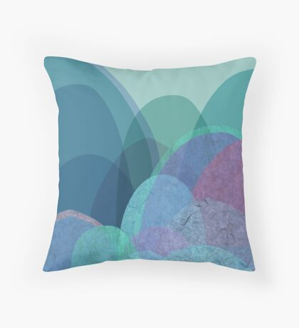 It is not the mountain we conquer but ourselves  Throw Pillow