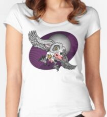 Mutant Zoo - Cowl Women's Fitted Scoop T-Shirt