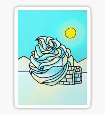 Icing Igloo Sticker