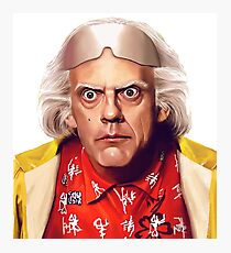 Doc Brown Photographic Print