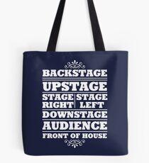 Theatre Geeks Design Tote Bag