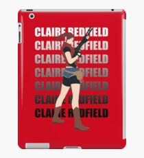 Claire Redfield Resident Evil 2 iPad Case/Skin