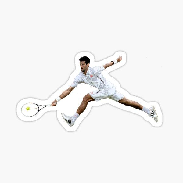 Novak Djokovic 3 Sticker