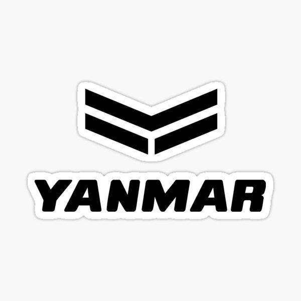 TRACTEURS-LOGO YANMAR Sticker