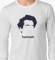 Hannah Arendt (Hirsute History) Long Sleeve T-Shirt