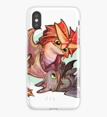 Cloudjumper and Toothless iPhone Case
