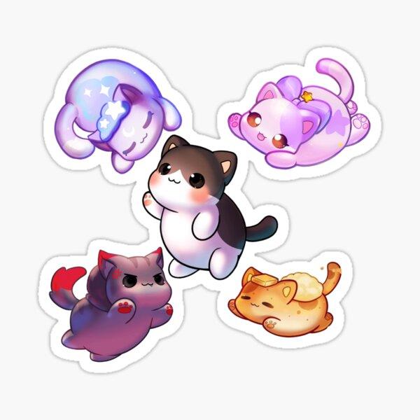 squad cat,  aphmau as cat  Sticker