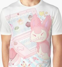 Pastel Skitty Graphic T-Shirt