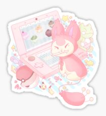 Pastel Skitty Sticker