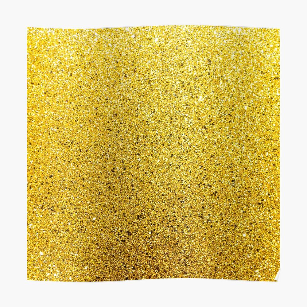 Sonnenschein Glittery Golden Sparkle Poster