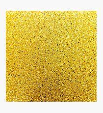 Sunshine Glittery Golden Sparkle Photographic Print