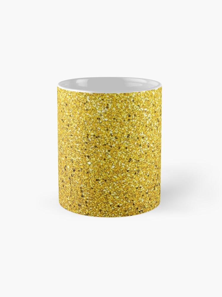 Alternative Ansicht von Sonnenschein Glittery Golden Sparkle Tasse