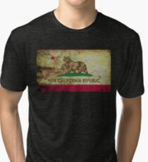 New california republic grunge Tri-blend T-Shirt