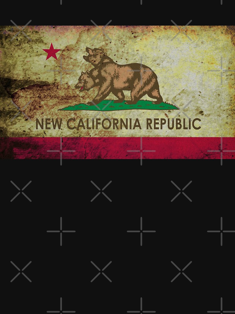 New california republic grunge by silverorlead