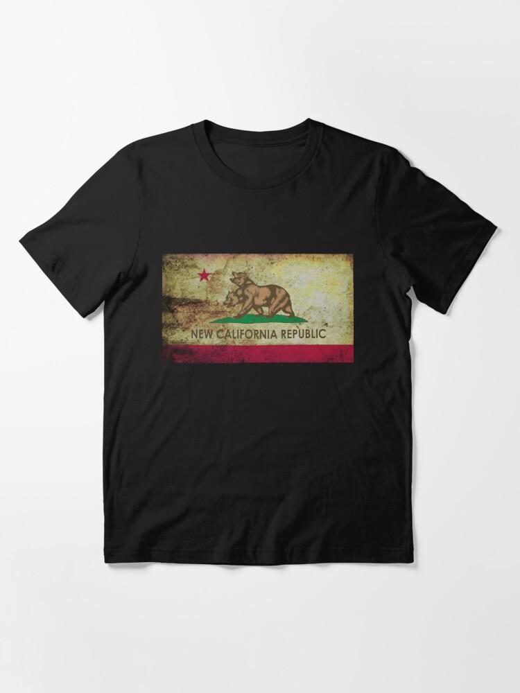 Alternate view of New california republic grunge Essential T-Shirt